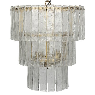 Bruna 4-Light Crystal Chandelier