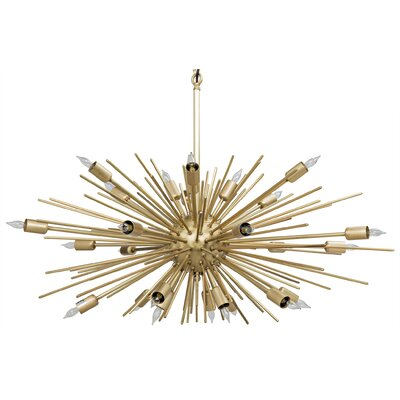 Loleil 27-Light Sputnik Chandelier