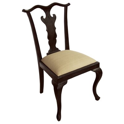 Low Price Noir New Chipendale Side Chair