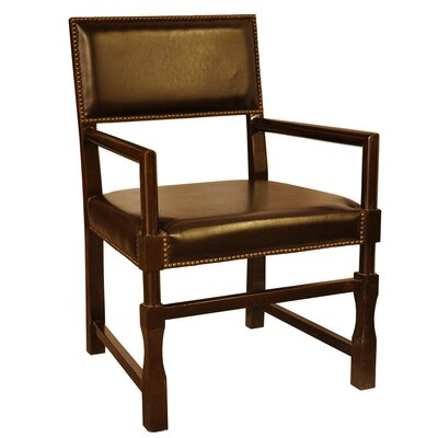 Low Price Noir Square Arm Chair