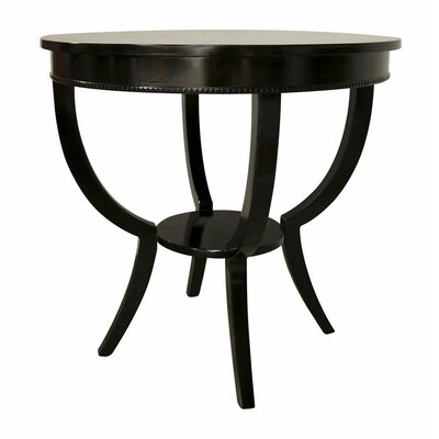 Scheffield End Table Color: Black