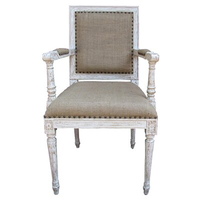 Picture of Noir Regency Arm Chair in Large Size