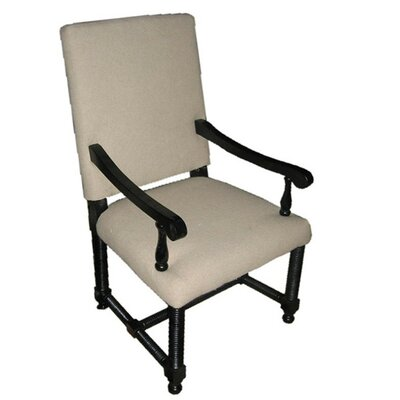 Picture of Noir Spanish Arm Chair in Large Size