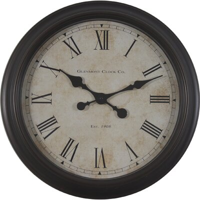 18 Global Glenmont Wall Clock