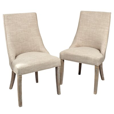 Pennock Side Chair Upholstery: Light Tan