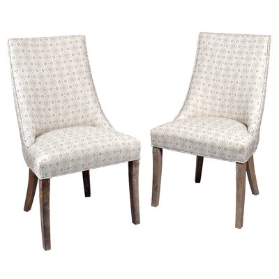 Pennock Side Chair Upholstery: Light Beige