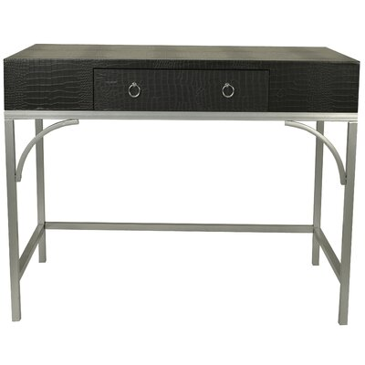 Elroy Console Table Color: Black