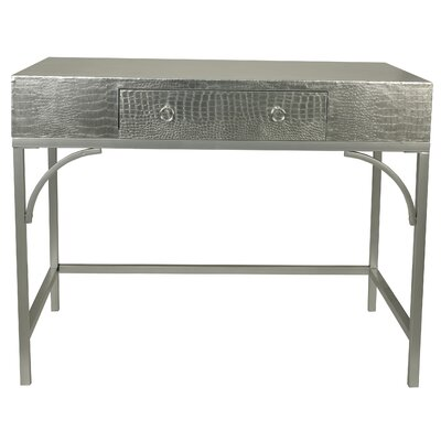Elroy Console Table Color: Silver