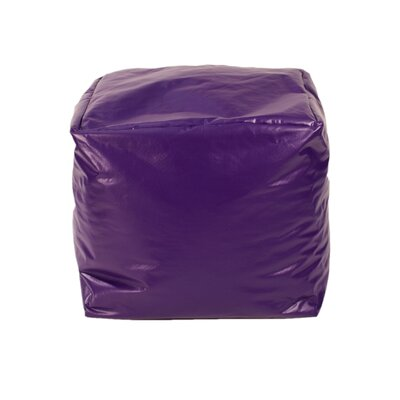 Pouf Upholstery: Purple