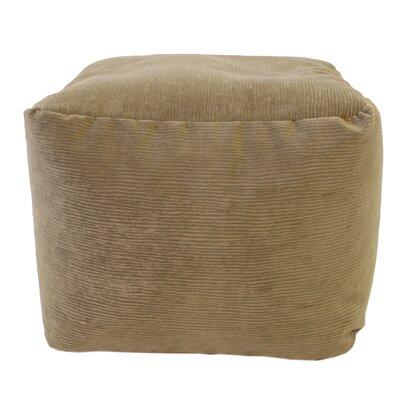 Medium Corduroy Ottoman Upholstery: Toast