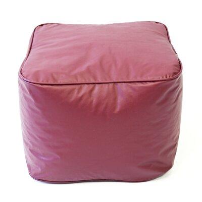 Pouf Upholstery: Wine