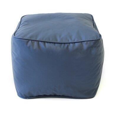Pouf Upholstery: Navy Blue