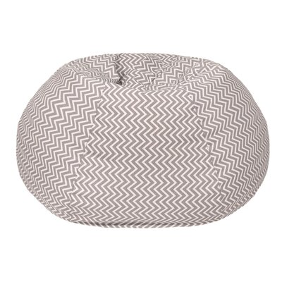 Cosmo Small/Toddler Bean Bag Chair Upholstery: Storm Gray