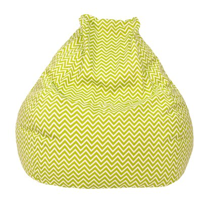 Cosmo Bean Bag Chair Upholstery: Chartruese