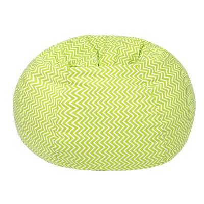 Cosmo Extra Large Bean Bag Chair Upholstery: Chartruese