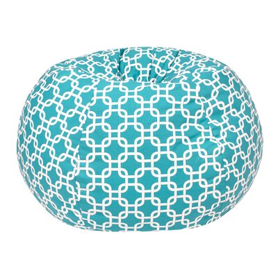 Gotcha Small/Toddler Bean Bag Chair Upholstery: Turquoise