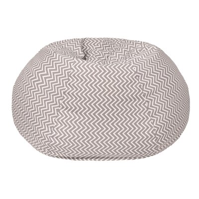 Cosmo Medium/Tween Bean Bag Chair Upholstery: Storm Gray