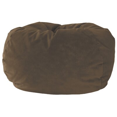 Medium Bean Bag Chair Upholstery: Cocoa