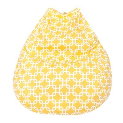 Gotcha Bean Bag Chair Upholstery: Natural Yellow