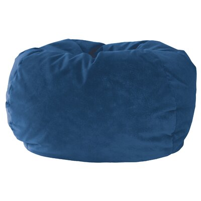 Medium Bean Bag Chair Upholstery: Navy