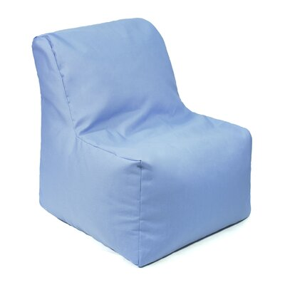 Denim Look Bean Bag Chair Upholstery: Blue