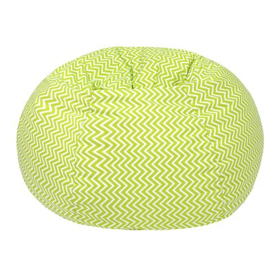 Cosmo Small/Toddler Bean Bag Chair Upholstery: Chartruese
