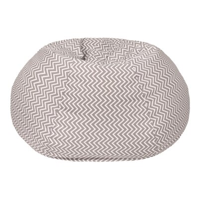 Cosmo Extra Large Bean Bag Chair Upholstery: Storm Gray