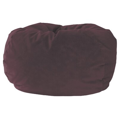 Medium Bean Bag Chair Upholstery: Wine
