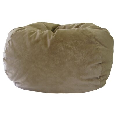 Medium Bean Bag Chair Upholstery: Buff