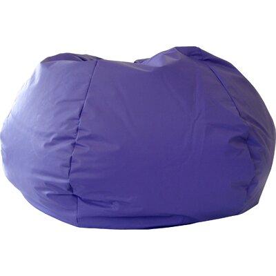Gold Medal Bean Bags Bean Bag Chair - Color: Purple, Size: Medium / Tween at Sears.com