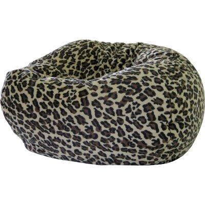 Gold Medal Bean Bags Animal Skin Leopard Safari Bean Bag Chair - Size: XX Large at Sears.com