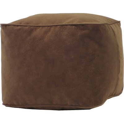 Bean Bag Chair Size: Small, Upholstery: Cocoa