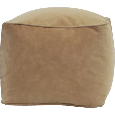 Bean Bag Chair Upholstery: Buff, Size: Small