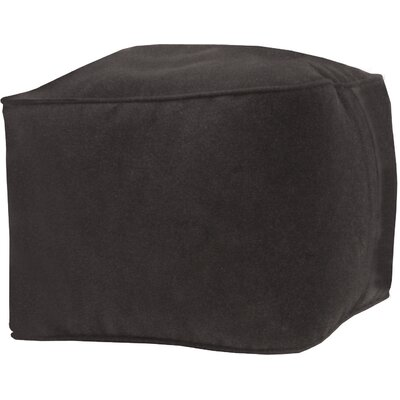Bean Bag Chair Upholstery: Black, Size: Medium