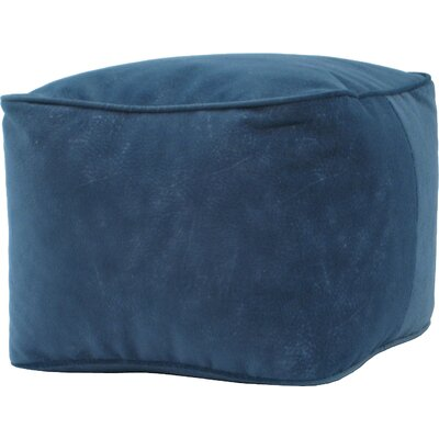 Bean Bag Chair Upholstery: Navy Blue, Size: Small
