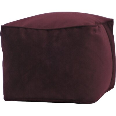 Bean Bag Chair Upholstery: Wine, Size: Small