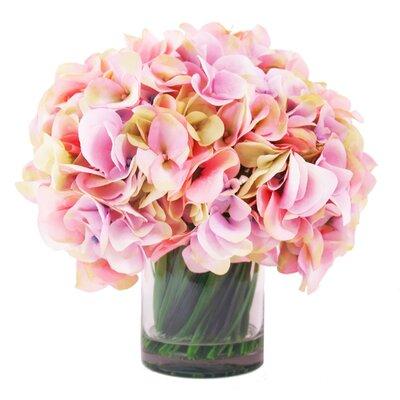 Hydrangea Water Vase