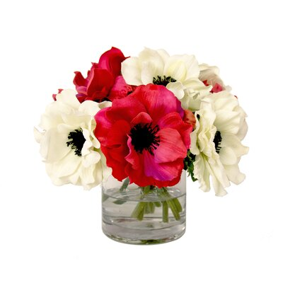Anemone Floral Water Vassel