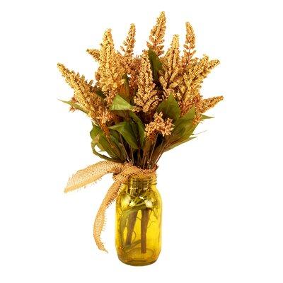 Spring Additions Astilbe Mason Jar Floral
