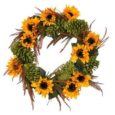 """Autumn 26"""" Sunflower Wreath AGGR7973 40811724"""