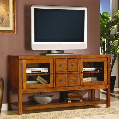 Cheap Lifestyle California Arcadia 56″ TV Stand in Distressed Brown Pecan (LC1809)