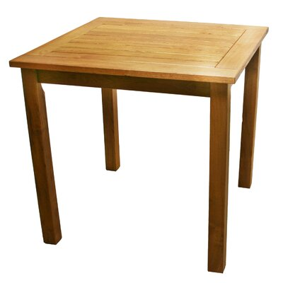Broadmeade Square Wood Side Table