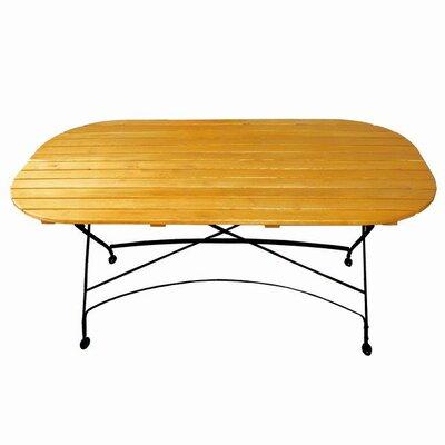 Folding Oval Table Umbrella Hole 4024 Item Photo