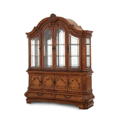 Tuscano China Cabinet in Biscotti
