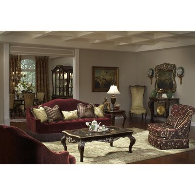 Michael Amini ICO3156 Imperial Court Tufted Living Room Collection