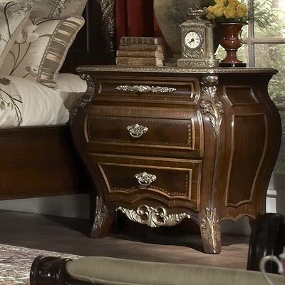 Imperial Court 3 Drawer Bachelors Chest