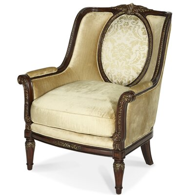 Imperial Court Wood Trim Armchair