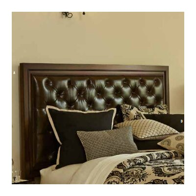 Bella Cera Upholstered Panel Headboard Size: Queen