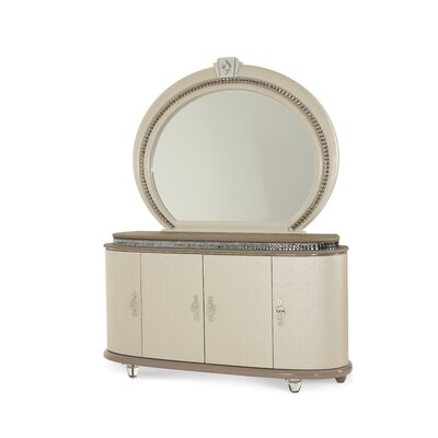 Overture 8 Drawer Dresser and Mirror