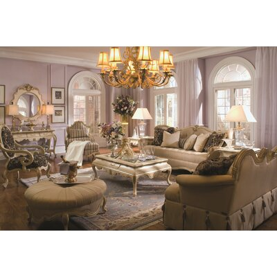 Lavelle Tufted Sofa Upholstery: Champagne / Blanc